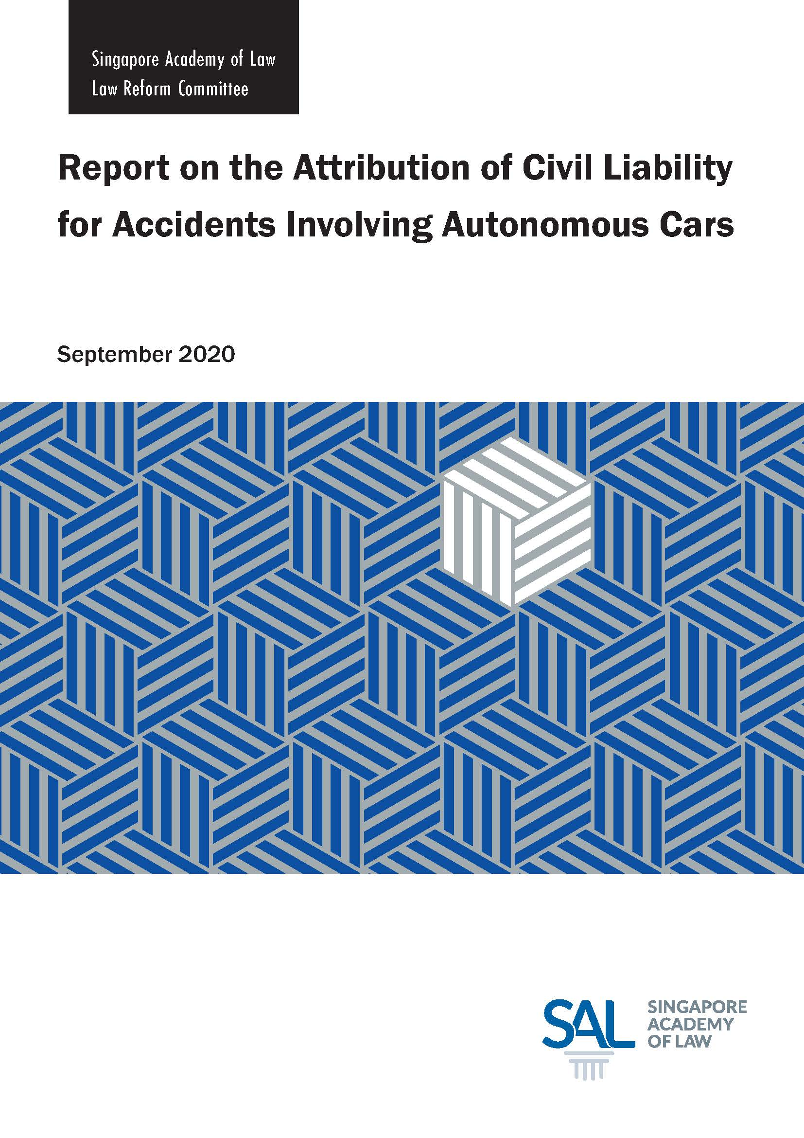 2020 Report on the Attribution of Civil Liability for Accidents Involving Autonomous Cars
