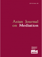 Asian Journal on Mediation 2011