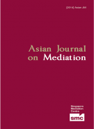 Asian Journal on Mediation 2014