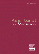 Asian Journal on Mediation 2016